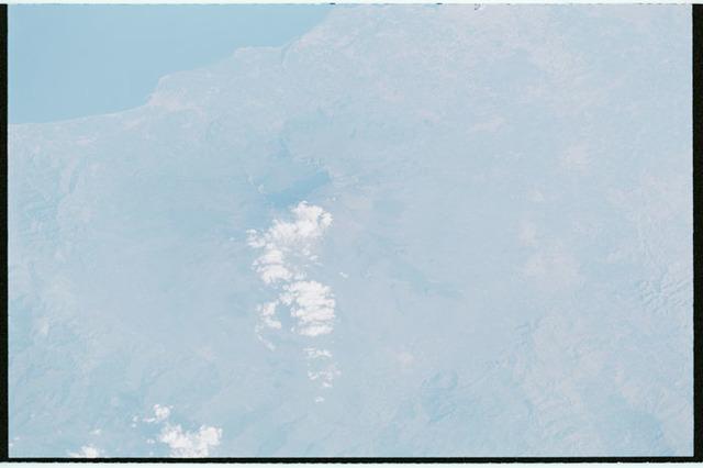 STS100-321-025 - STS-100 - Earth observation image of Mt. Etna, Sicily taken during STS-100