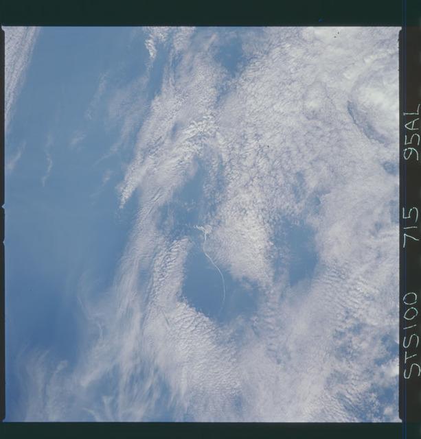 STS100-715-059AL - STS-100 - Earth observation image taken during STS-100