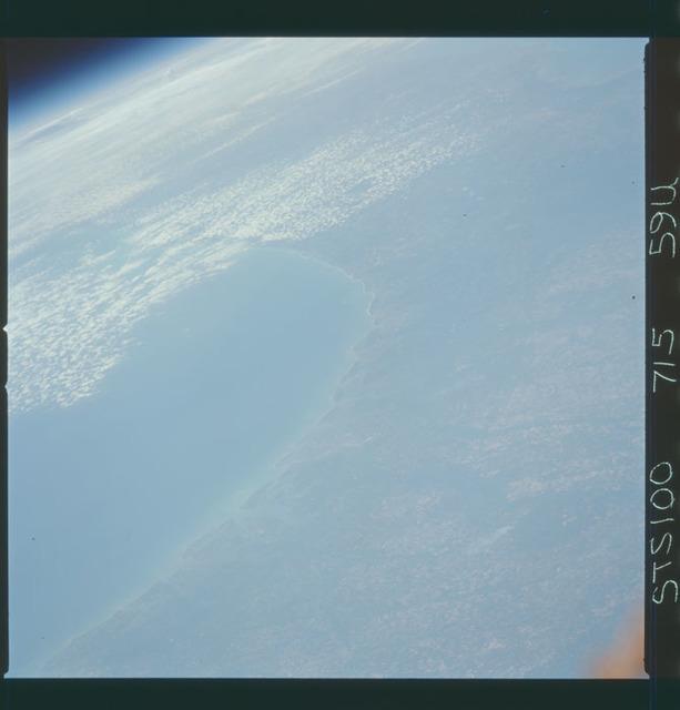 STS100-715-059U - STS-100 - Earth observation image taken during STS-100