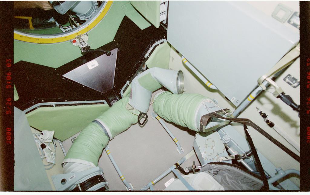 STS101-336-020 - STS-101 - Interior FGB/Zarya hardware