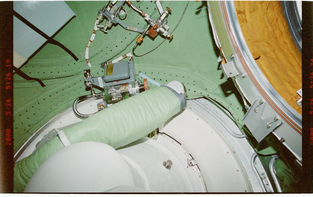 STS101-336-030 - STS-101 - Interior FGB/Zarya hardware