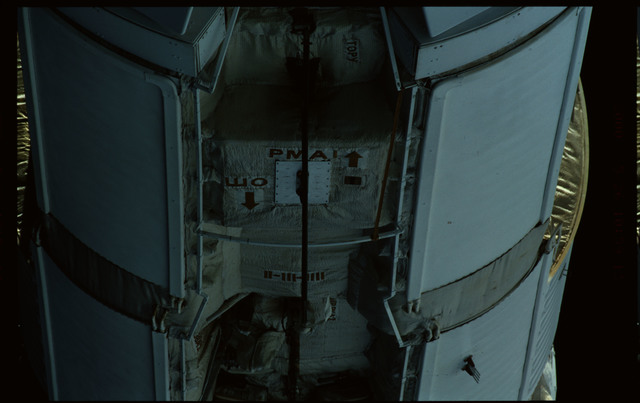STS101-351-030 - STS-101 - Exterior view of Plane III (-ZA) of FGB/Zarya