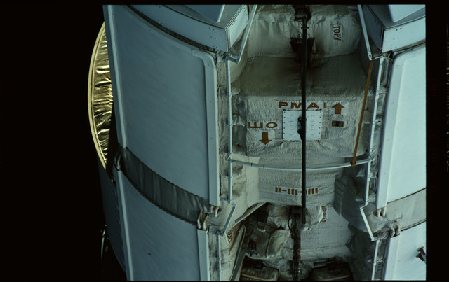 STS101-351-032 - STS-101 - Exterior view of Plane III (-ZA) of FGB/Zarya