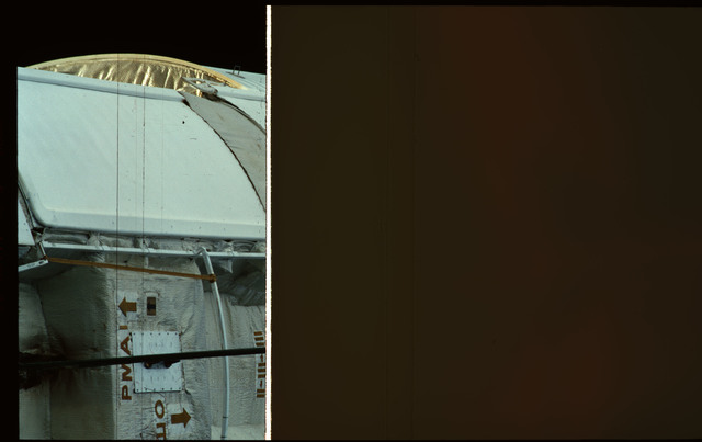 STS101-361-003 - STS-101 - Plane III of the FGB/Zarya module