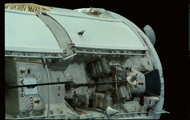 STS101-361-006 - STS-101 - Plane III of the FGB/Zarya module