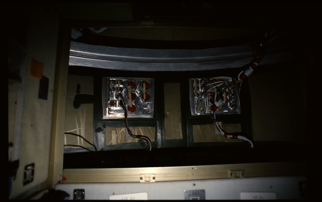 STS101-365-035 - STS-101 - Documentation of FGB/Zarya hardware