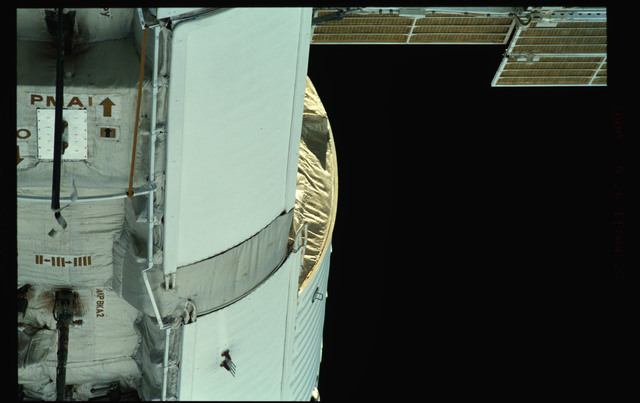 STS101-368-001 - STS-101 - Views of Plane III Zenith side of the FGB/Zarya module