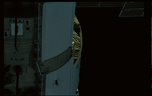 STS101-368-003 - STS-101 - Views of Plane III Zenith side of the FGB/Zarya module