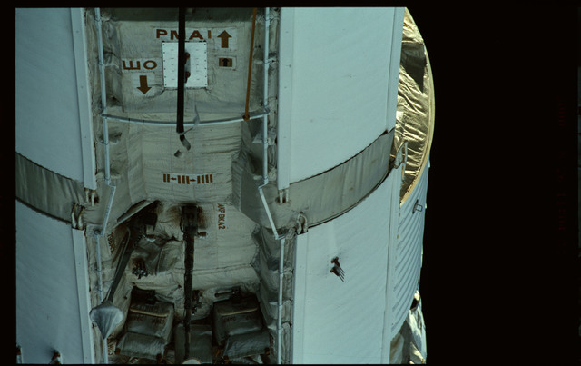 STS101-368-004 - STS-101 - Views of Plane III Zenith side of the FGB/Zarya module