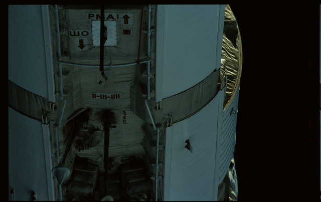 STS101-368-005 - STS-101 - Views of Plane III Zenith side of the FGB/Zarya module