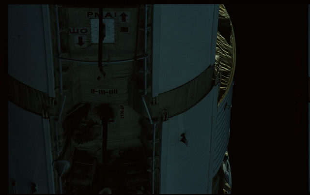 STS101-368-006 - STS-101 - Views of Plane III Zenith side of the FGB/Zarya module