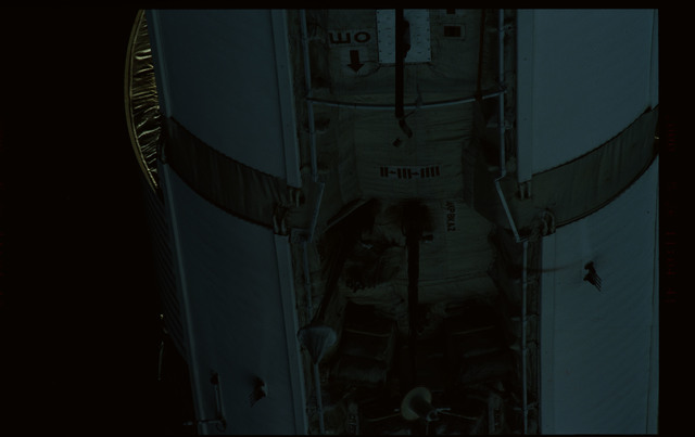 STS101-368-009 - STS-101 - Views of Plane III Zenith side of the FGB/Zarya module