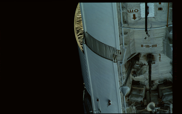 STS101-368-011 - STS-101 - Views of Plane III Zenith side of the FGB/Zarya module
