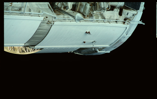 STS101-368-014 - STS-101 - Views of Plane III Zenith side of the FGB/Zarya module