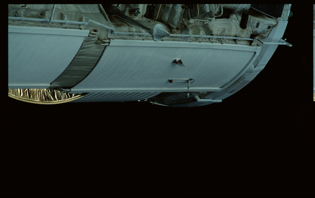 STS101-368-015 - STS-101 - Views of Plane III Zenith side of the FGB/Zarya module