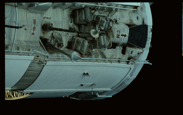 STS101-368-016 - STS-101 - Views of Plane III Zenith side of the FGB/Zarya module