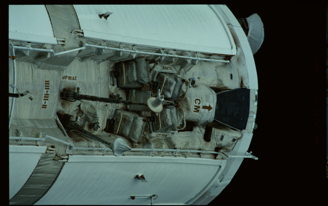 STS101-368-019 - STS-101 - Views of Plane III Zenith side of the FGB/Zarya module