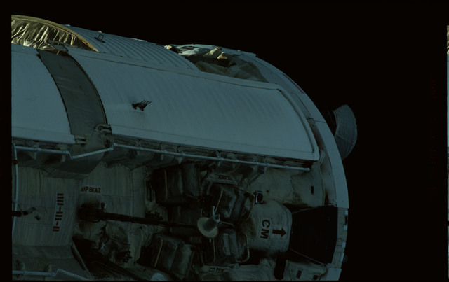 STS101-368-023 - STS-101 - Views of Plane III Zenith side of the FGB/Zarya module
