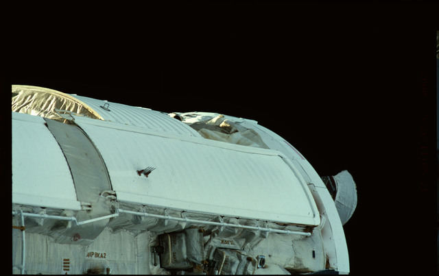 STS101-368-025 - STS-101 - Views of Plane III Zenith side of the FGB/Zarya module