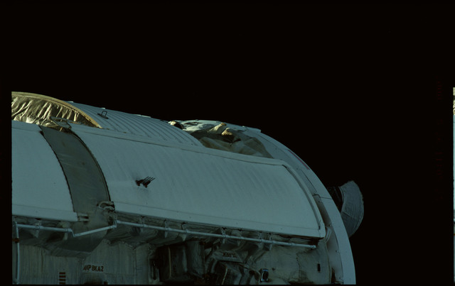 STS101-368-026 - STS-101 - Views of Plane III Zenith side of the FGB/Zarya module