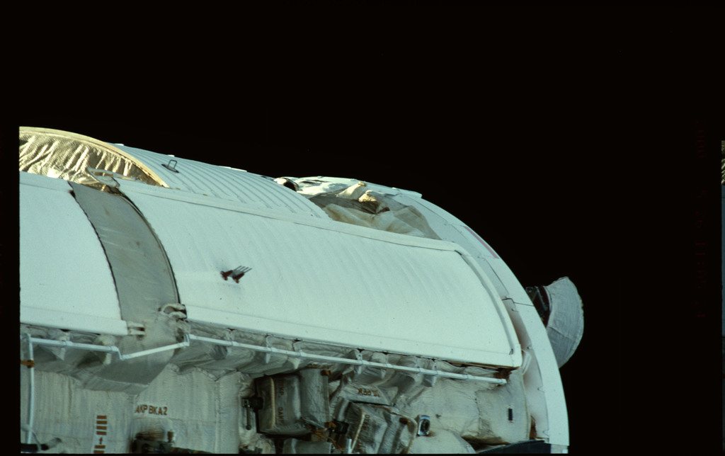 STS101-368-028 - STS-101 - Views of Plane III Zenith side of the FGB/Zarya module