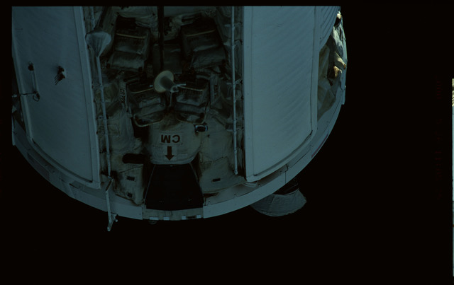 STS101-368-029 - STS-101 - Views of Plane III Zenith side of the FGB/Zarya module