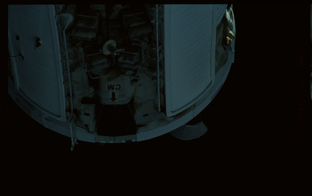 STS101-368-030 - STS-101 - Views of Plane III Zenith side of the FGB/Zarya module