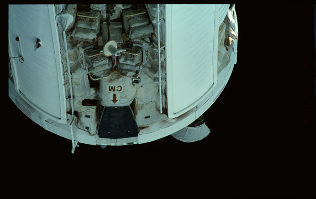 STS101-368-031 - STS-101 - Views of Plane III Zenith side of the FGB/Zarya module