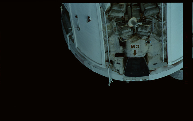 STS101-368-032 - STS-101 - Views of Plane III Zenith side of the FGB/Zarya module