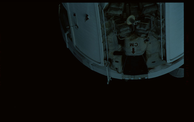 STS101-368-033 - STS-101 - Views of Plane III Zenith side of the FGB/Zarya module