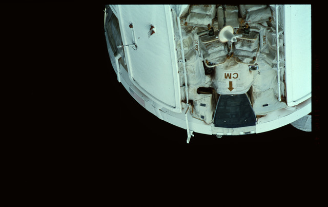 STS101-368-034 - STS-101 - Views of Plane III Zenith side of the FGB/Zarya module