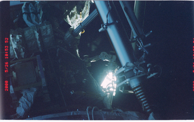 STS101-370-032 - STS-101 - View of the Node 1/Unity and PMA-1 modules