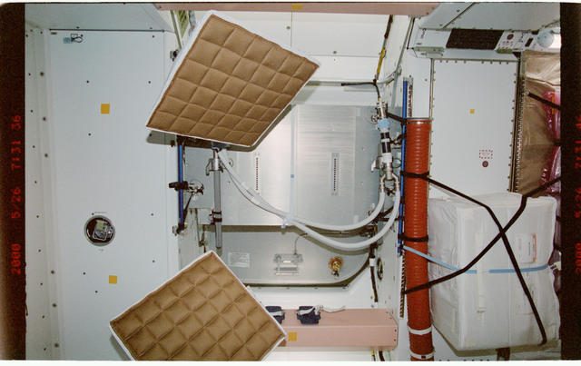 STS101-387-013 - STS-101 - Desiccant bags in the Node 1/Unity module