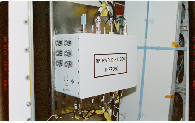 STS101-388-006 - STS-101 - Early Comm power unit in Node 1/Unity module