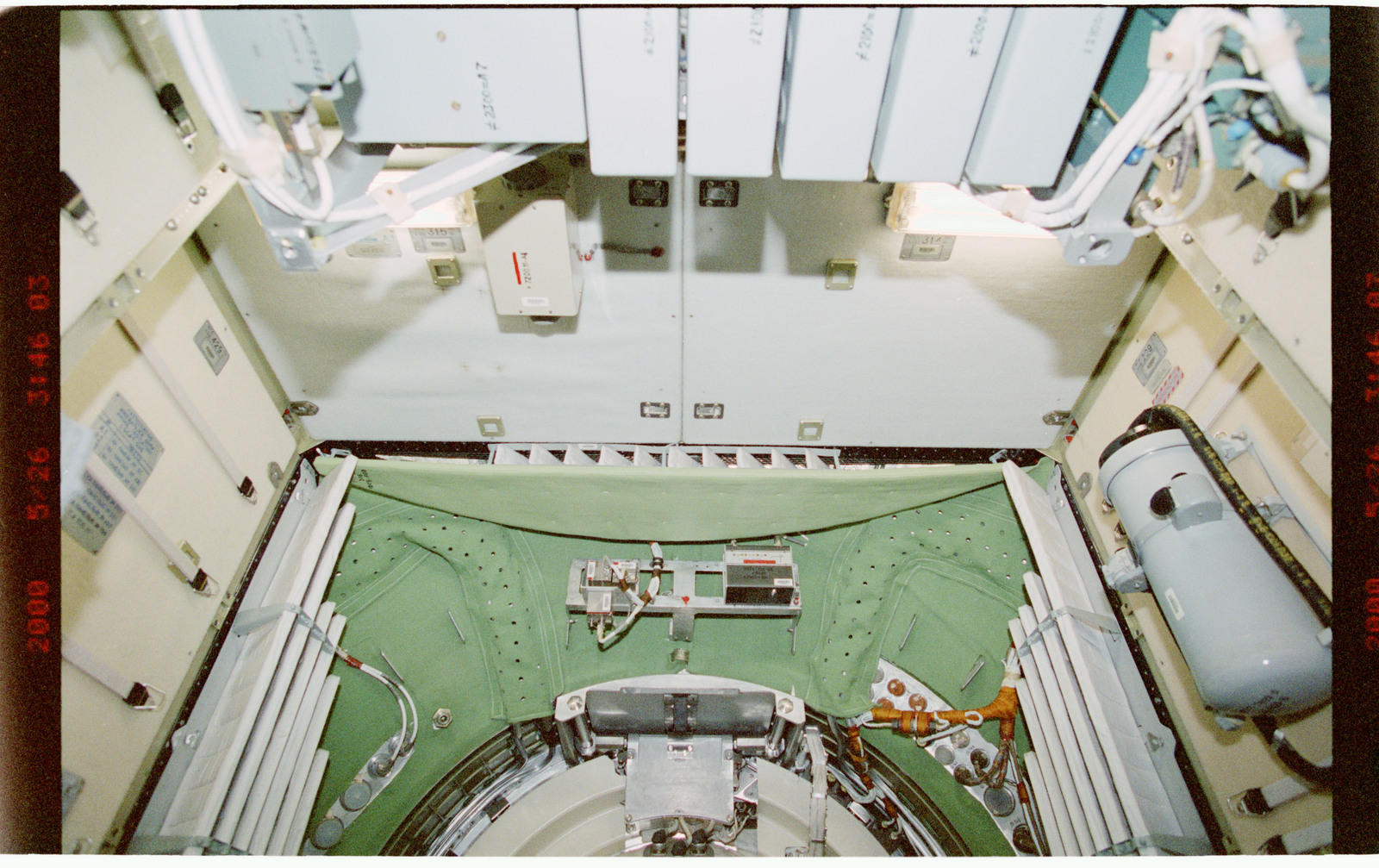 STS101-394-025 - STS-101 - Interior view of the FGB/Zarya module