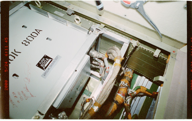 STS101-397-018 - STS-101 - Battery aboard the FGB/Zarya module