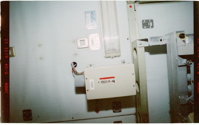 STS101-397-024 - STS-101 - Smoke detectors aboard FGB/Zarya module