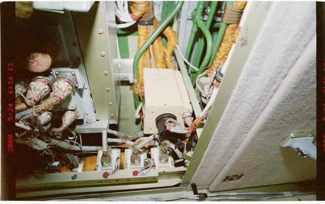 STS101-397-029 - STS-101 - Smoke detectors aboard FGB/Zarya module