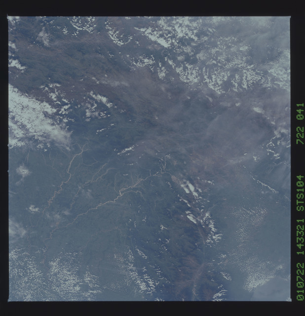 STS104-722-041 - STS-104 - Northern Andes Mts of W Venezuela taken by the STS-104 crew