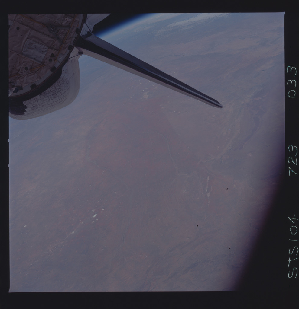STS104-723-033 - STS-104 - Earth Observation taken by the STS-104 crew