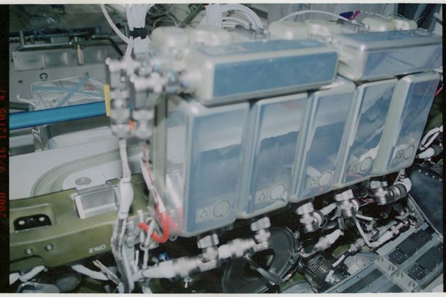 STS106-304-015 - STS-106 - Views of CBM's Controller Power Assemblies (CPA) in Node 1 during STS-106