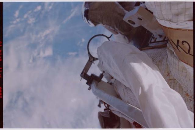 STS106-348-024 - STS-106 - Star Tracker and solar horizon sensor on Zvezda during STS-106's EVA