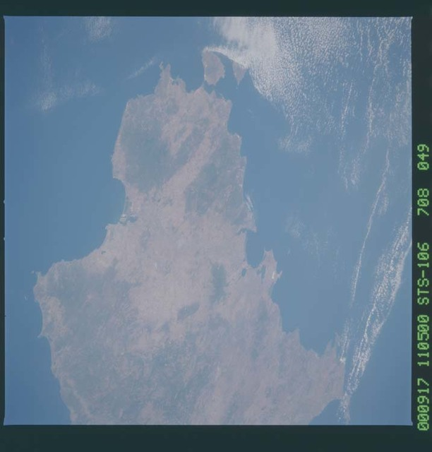 STS106-708-049 - STS-106 - Sardinia taken from Atlantis during STS-106