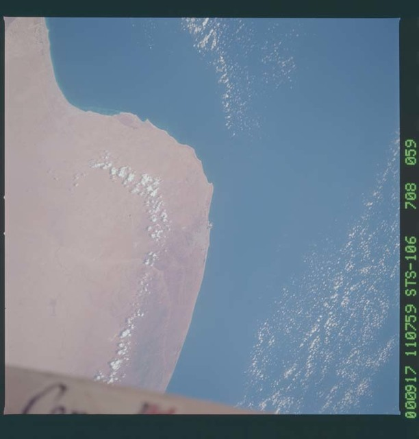 STS106-708-059 - STS-106 - Earth observation views taken from Atlantis during STS-106