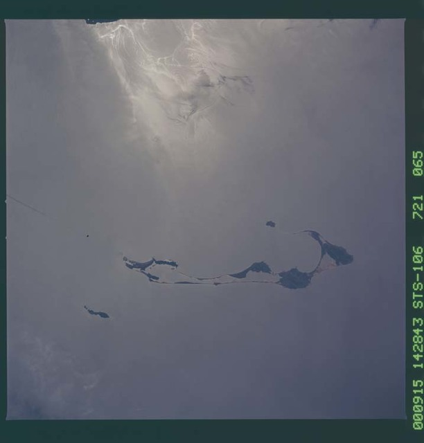 STS106-721-065 - STS-106 - ``The Maritime Provinces, Canada taken from Atlantis during STS-106``