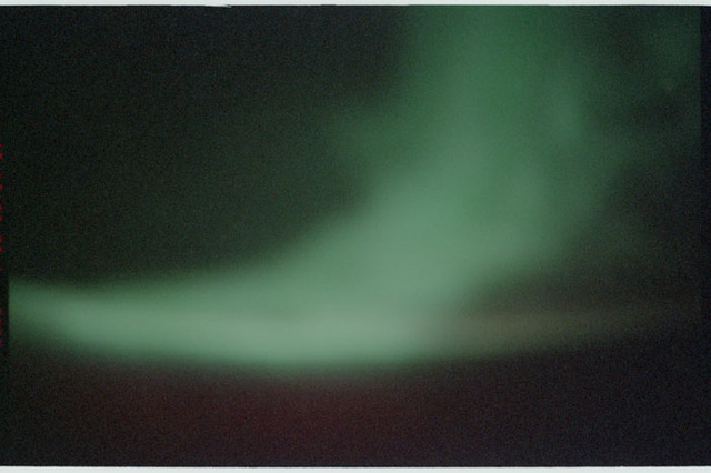 STS110-381-010 - STS-110 - Earth observation view of the Aurora Australis taken during STS-110.