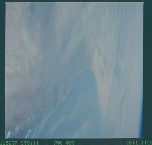 STS111-706-093 - STS-111 - Earth Observations taken during mission STS-111 UF-2.