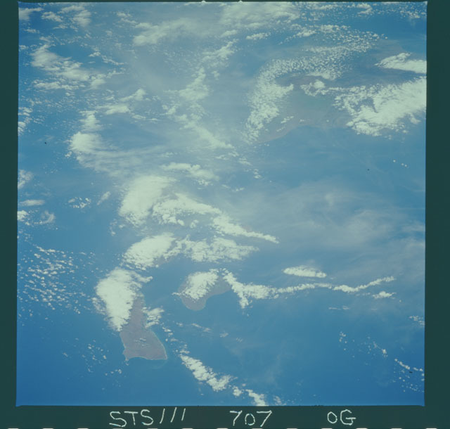STS111-707-00G - STS-111 - Earth Observation from space taken during Mission STS-111 UF-2.