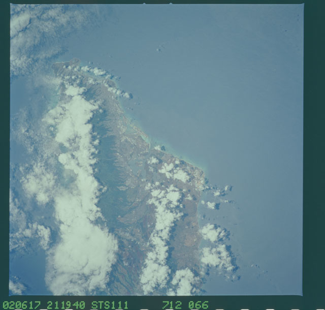 STS111-712-066 - STS-111 - Earth Observation from space taken during Mission STS-111 UF-2.