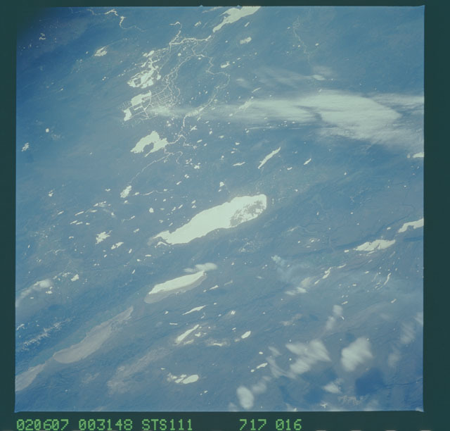 STS111-717-016 - STS-111 - Earth Observations taken during mission STS-111 UF-2.